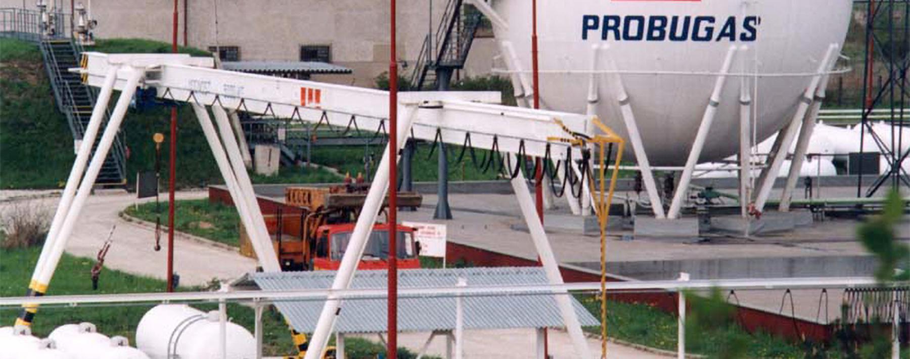 Single girder portal cranes