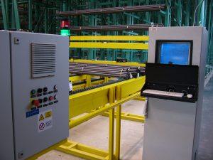 Riadiaci počítač skladu