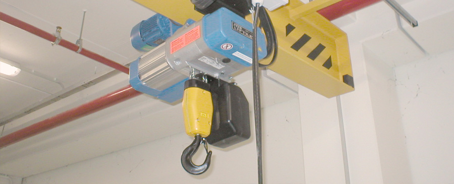 Wire rope and chain hoists