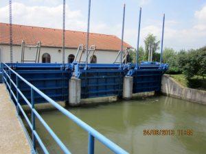 Hradenie na vtoku MVE