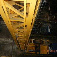 Stacker crane - View from the top