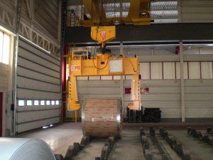 Teleskopické kliešte na zvitky 30000 kg