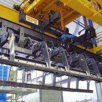 Klieštinová traverza na betónové tvárnice 5000 kg