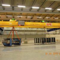 Double girder overhead crane 40t/20t