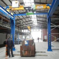Mostový jednonosníkový žeriav 8000 kg