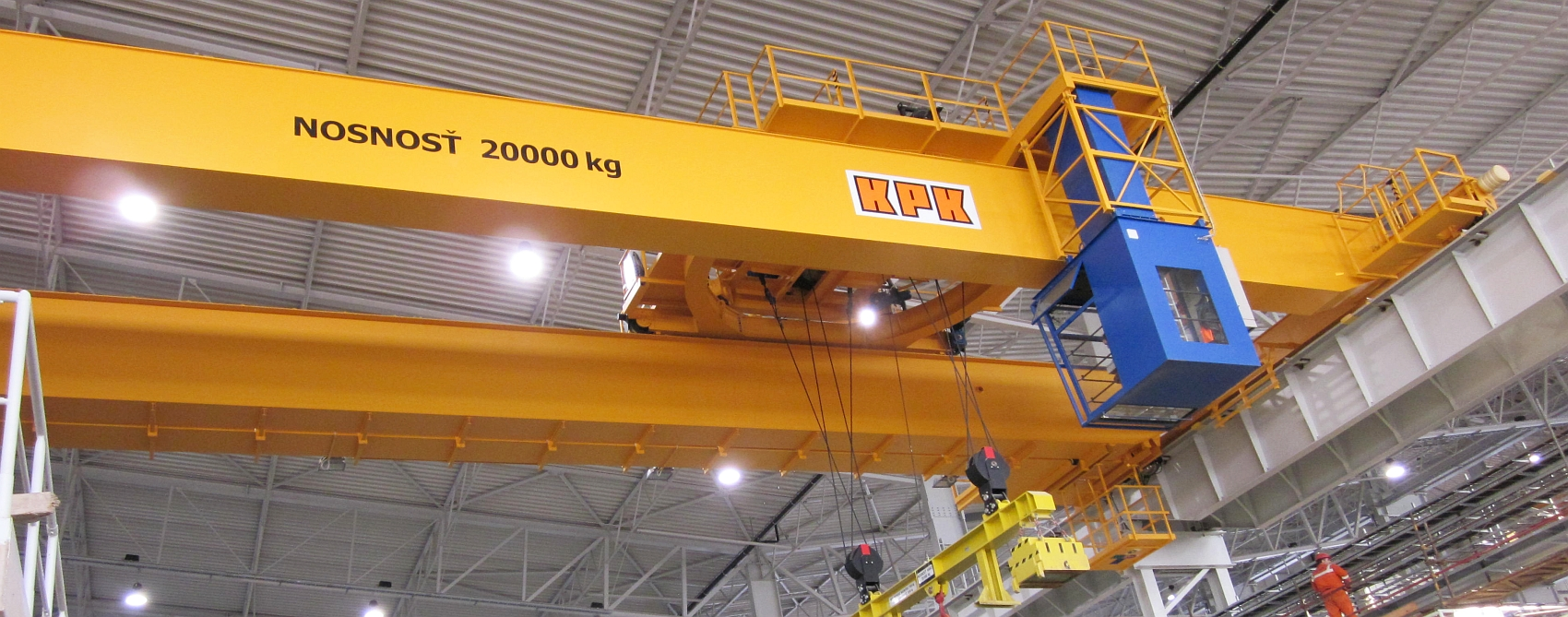 Process cranes by KPK company
