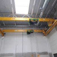 Jednonosníkový mostový žeriav 10000 kg