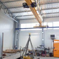 Jednonosníkový mostový žeriav 3200 kg