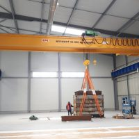 Dvojnosníkový mostový žeriav 25000 kg