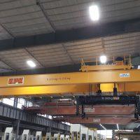 Double girder overhead crane 10,56t