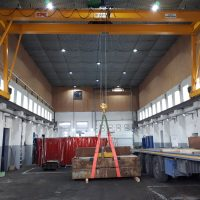 Double girder gantry crane 10t