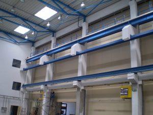 Craneway for mobile cantilever crane
