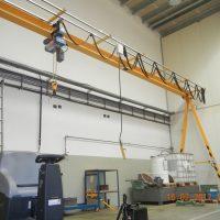 Monorail crane 1t