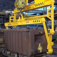 Container emptying equipment