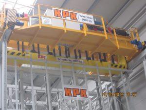 Stacker cranes