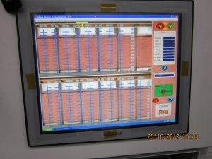 The control screen
