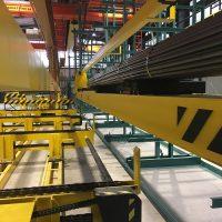 Detail of chain conveyor