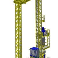 Stacker cranes 2000 kg
