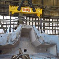 Spreader beam for ladle 28000 kg