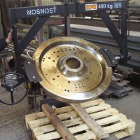 The equipment for rotating components 400 kg