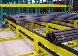 The chain conveyor 2