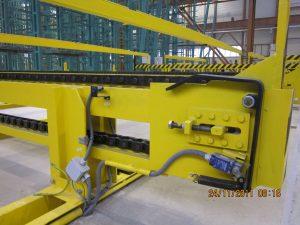 The chain conveyor 1