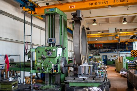 Horizontal boring machine RETOS Varnsdorf HP100